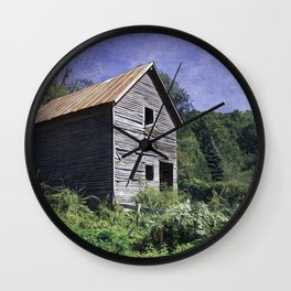 Yesterday, when it was summer Wall Clock