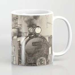 6120 Train Lithograph Coffee Mug