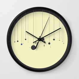 Solar System (you are here) Strings Wall Clock