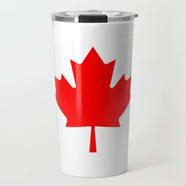The National Flag of Canada, Authentic color and 3:5 scale version  Travel Mug