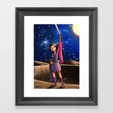 Mercury Princess Framed Art Print