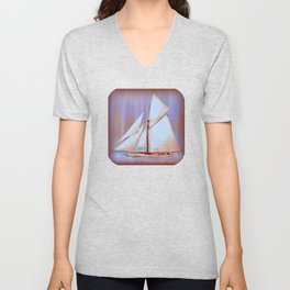 Ghost Sails Unisex V-Neck