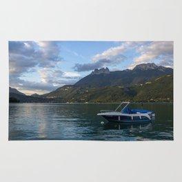 Boat Lake Annecy Rug