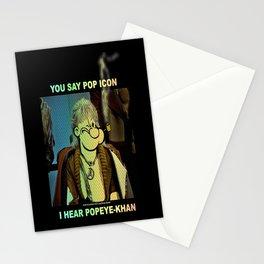 POP ICON / POPEYE-KHAN 025 Stationery Cards