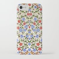 medieval iPhone & iPod Cases featuring Medieval Floral by Diana Kryski