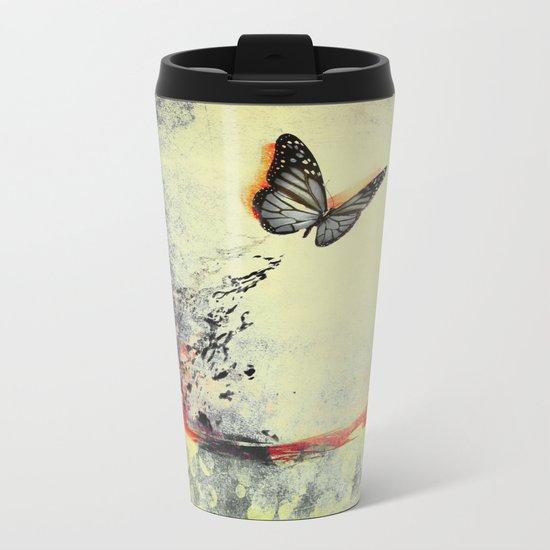 Waterfly III Metal Travel Mug
