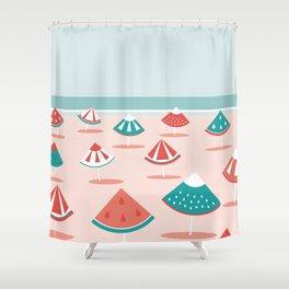 Fruit Beach Shower Curtain