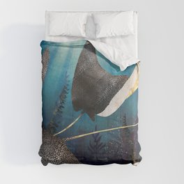 Metallic Stingray Comforters