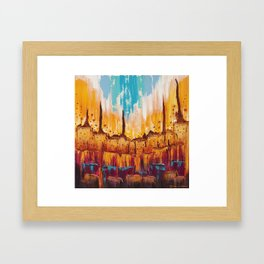 Look on the Brightside Framed Art Print