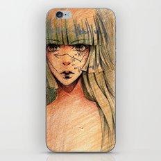 Time - Sketch iPhone & iPod Skin