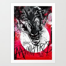 Ministry Live in Berlin with its Beer to Eternatour Art Print