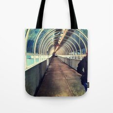 Onward Into The Tunnel Forbidden  Tote Bag