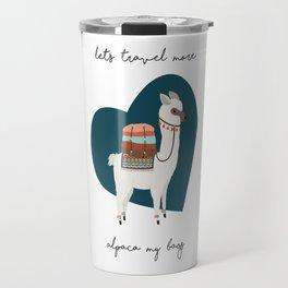 Alpaca my bags Travel Mug