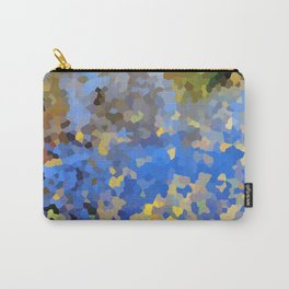 Gold dust on a mountain pond Carry-All Pouch