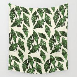 begonia maculata interior plant Wall Tapestry