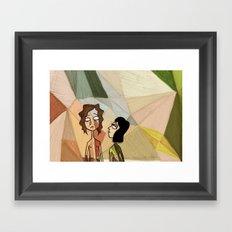 Gotye and Kimbra Framed Art Print