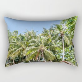 Dauin Trees Rectangular Pillow