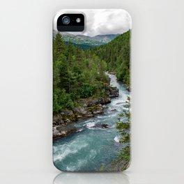 Alaska River Canyon - II iPhone Case