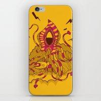 kraken iPhone & iPod Skins featuring Kraken! by Popnyville