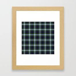 Clan MacKenzie Tartan Framed Art Print