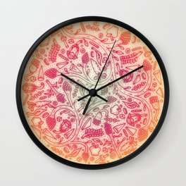 Fruitful Thoughts. Wall Clock