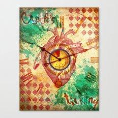 Clock's ticking... Canvas Print