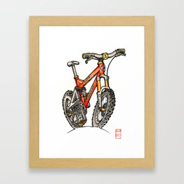 Turner 5spot color Framed Art Print