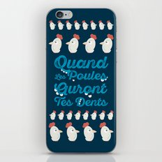 Chicken Will Have Your Teeth iPhone & iPod Skin