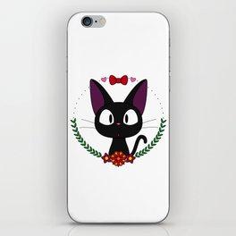 Little Black Cat iPhone Skin