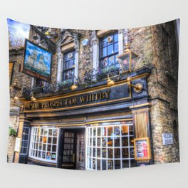 Prospect of  Whitby Pub London 1520 Wall Tapestry