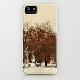 Winter Red iPhone Case