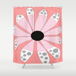 FLOWERY  BETH / ORIGINAL DANISH DESIGN bykazandholly Shower Curtain