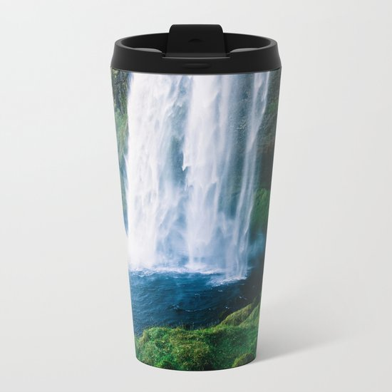Waterfall Metal Travel Mug