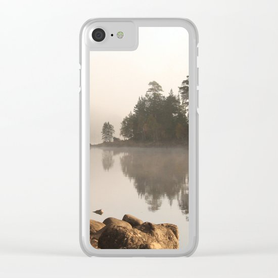From a different perspective Clear iPhone Case