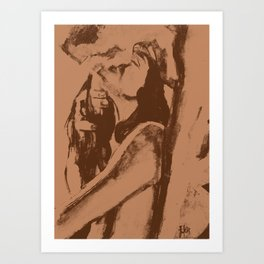 Lovers 8 Art Print