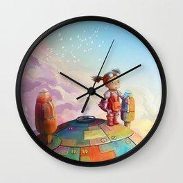MEI and TOTORO Wall Clock