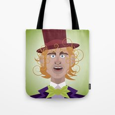Willy Wonka from Charlie and the chocolate factory, played by the great Gene Wilder Tote Bag