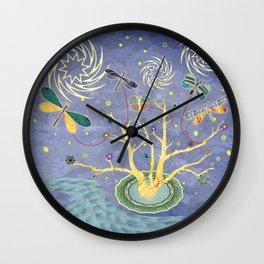 Nite Kites Wall Clock