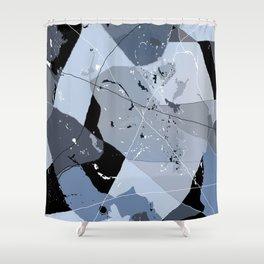 flick carpet Shower Curtain