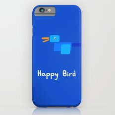 Happy Bird-Blue iPhone 6s Slim Case