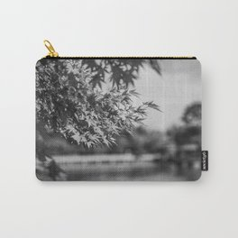 Autumn Scene (Black and White) Carry-All Pouch