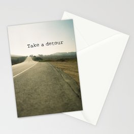 Take A Detour Stationery Cards