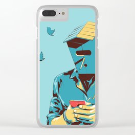 Birdman Clear iPhone Case