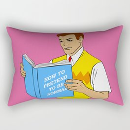 Be Normal Rectangular Pillow