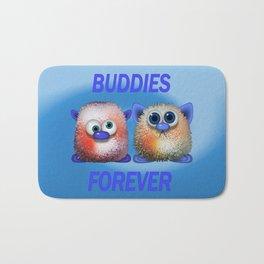 Buddies forever Bath Mat