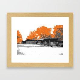 Usonian 2 Framed Art Print