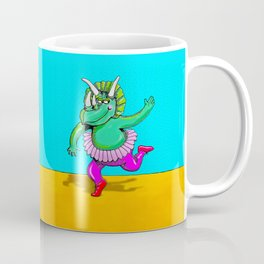 Sugarplum Triceratops Coffee Mug
