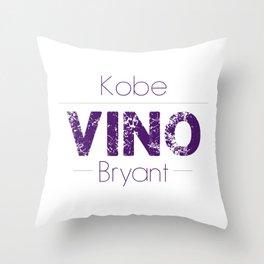 VINO (Purple) Throw Pillow