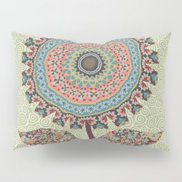 Fabby Flower-Vintage colors Pillow Sham