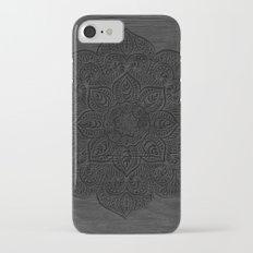 Wood Mandala Slim Case iPhone 7